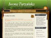 IwonaTurzanska.pl - pierwsza odsłona